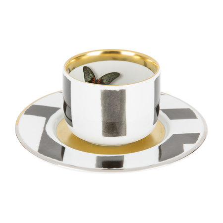 Christian Lacroix - Sol Y Sombra Coffee Cup & Saucer
