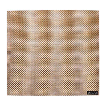 Chilewich - Basketweave Square Placemat - New Gold
