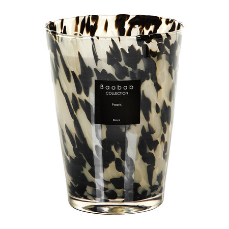 Baobab Collection - Pearls Scented Candle - Black Pearls - 24cm