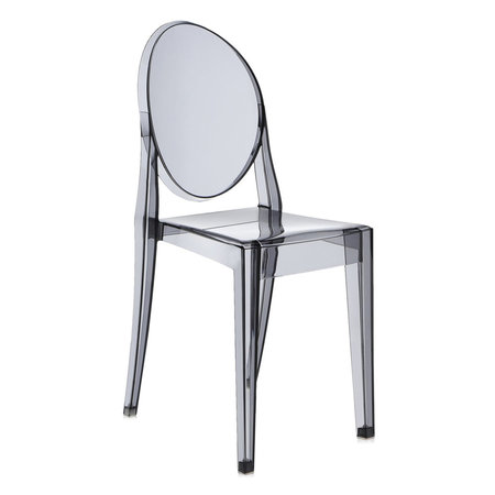 Kartell - Victoria Ghost Chair - Smoke Grey