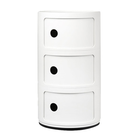Kartell - Componibili Storage Unit - White - Medium