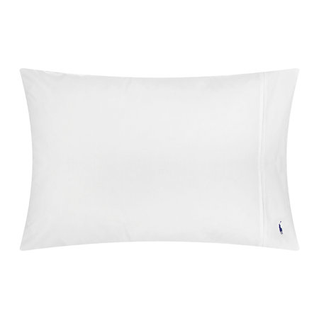 Ralph Lauren Home - Polo Player Pillowcases - White - Set of 2 - 50x75cm