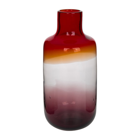 Buy Pols Potten Pill Glass Vase Red Amara
