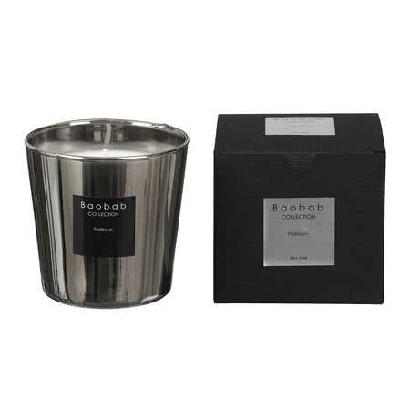 Baobab Collection - Platinum Scented Candle - 6.5cm