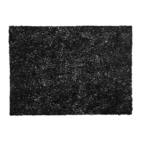 Chilewich - Pressed Scribble Rectangle Placemat - Black