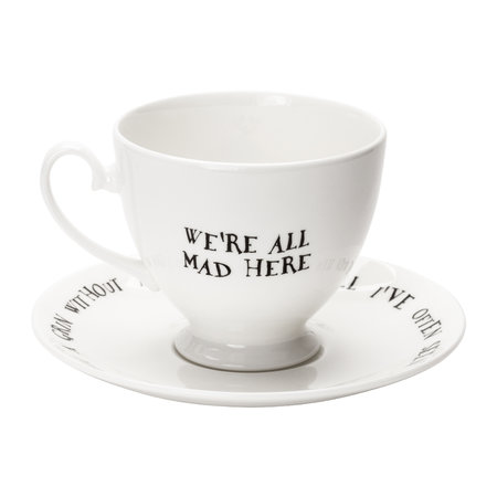 Mrs Moore's Vintage Store - Cheshire Cat Teacup & Saucer
