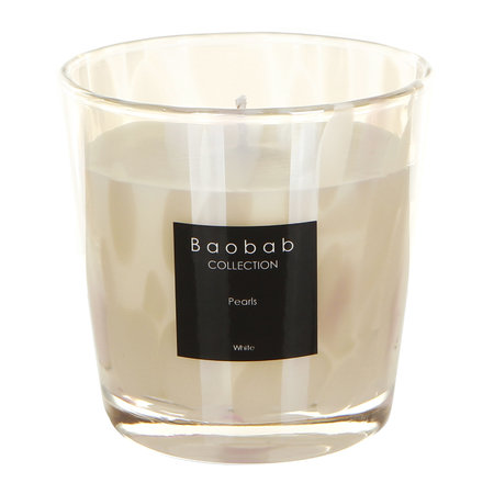 Baobab Collection - Scented Candle - White Musk & Jasmine White Pearls - 6.5cm