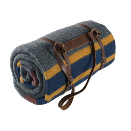 Pendleton - Twin Camp Blanket with Carrier - Lake