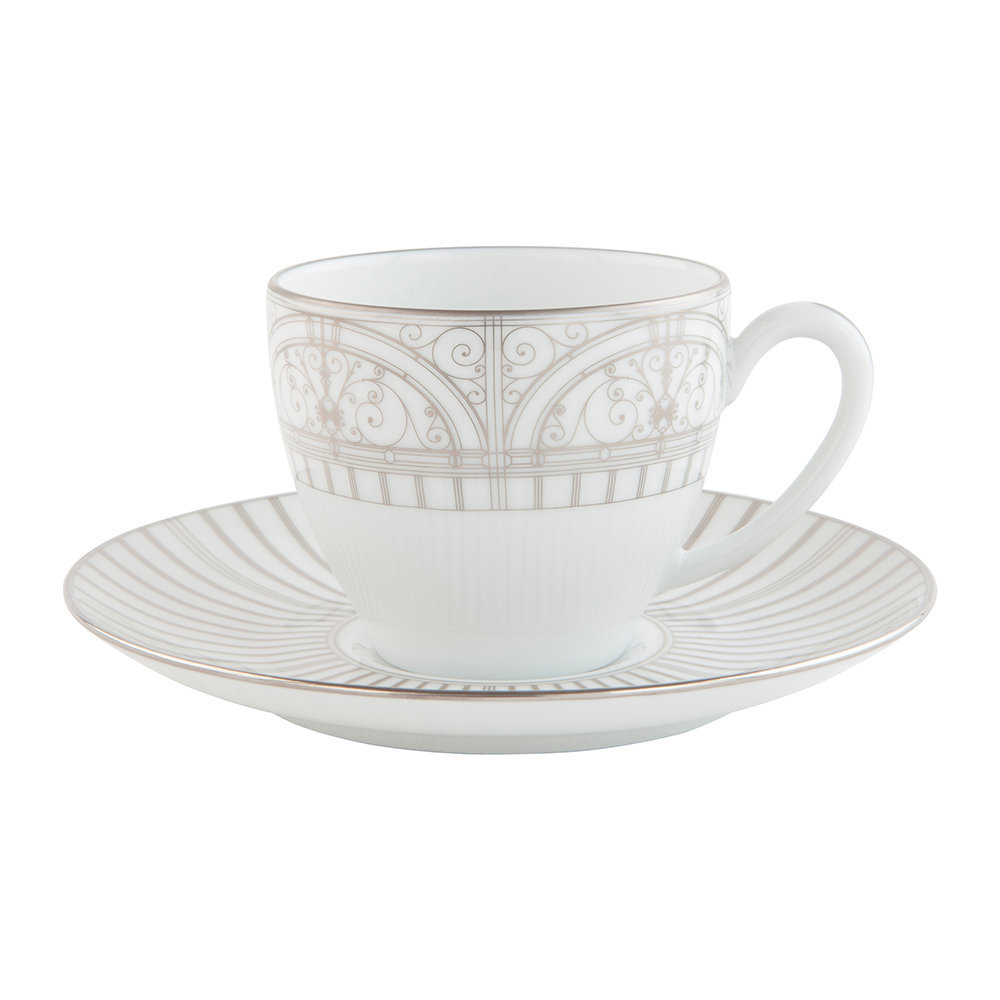 Haviland - Belle Epoque Coffee Cup  Saucer