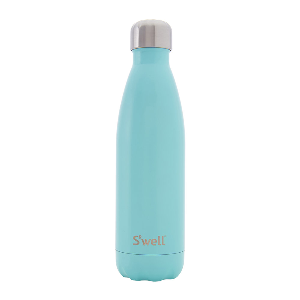 S'well - The Satin Bottle - Turquoise Blue - 0.5L
