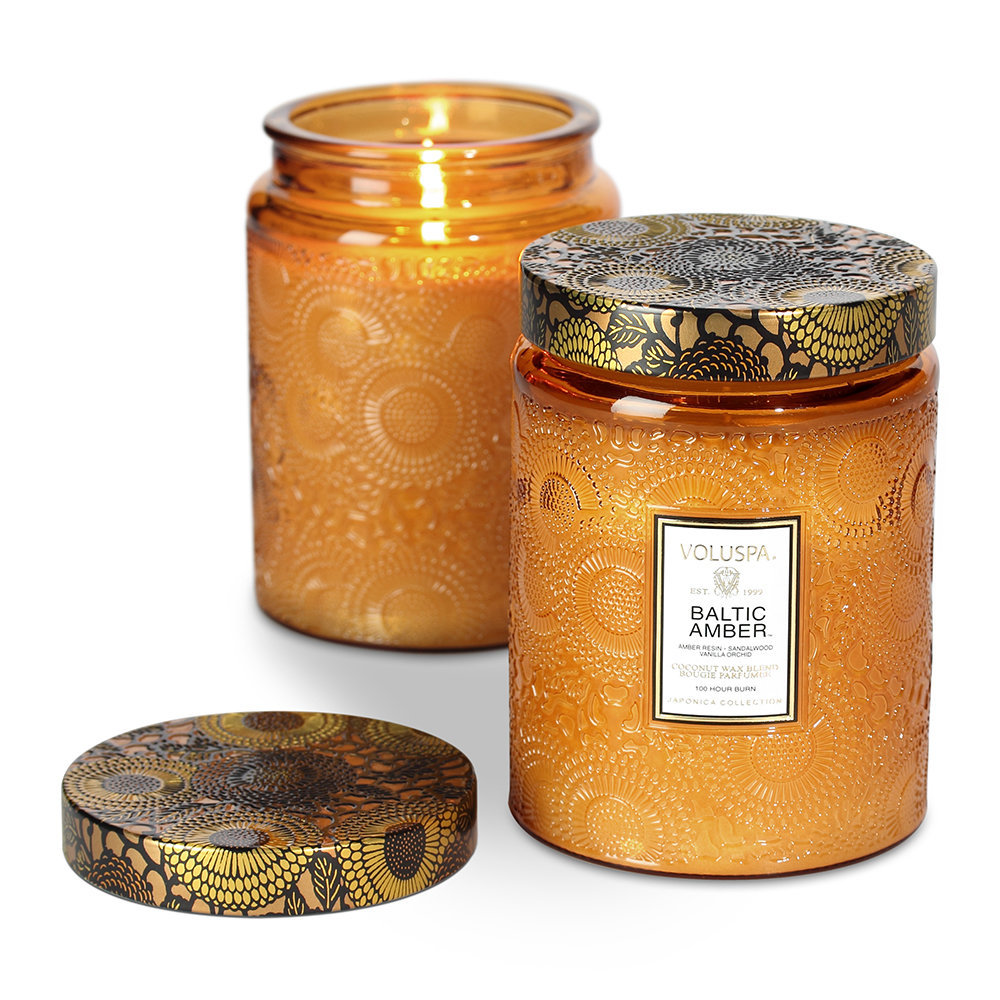 Voluspa - Japonica Limited Edition Candle - Baltic Amber - 453g