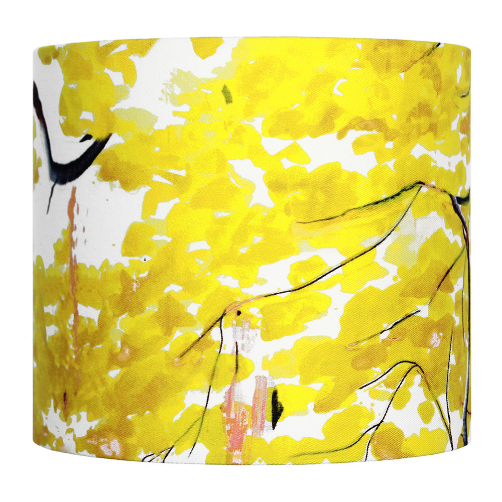 Anna Jacobs - Chinese Tree Lamp Shade - Yellow - Small