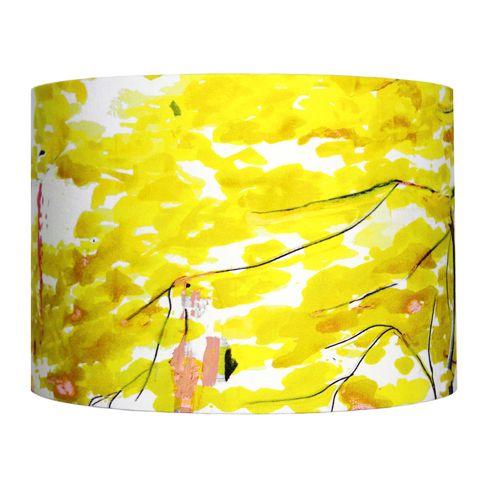 Anna Jacobs - Chinese Tree Lamp Shade - Yellow - Medium