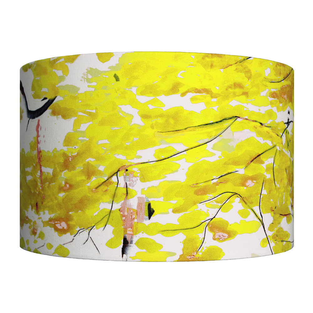 Anna Jacobs - Chinese Tree Lamp Shade - Yellow - Large