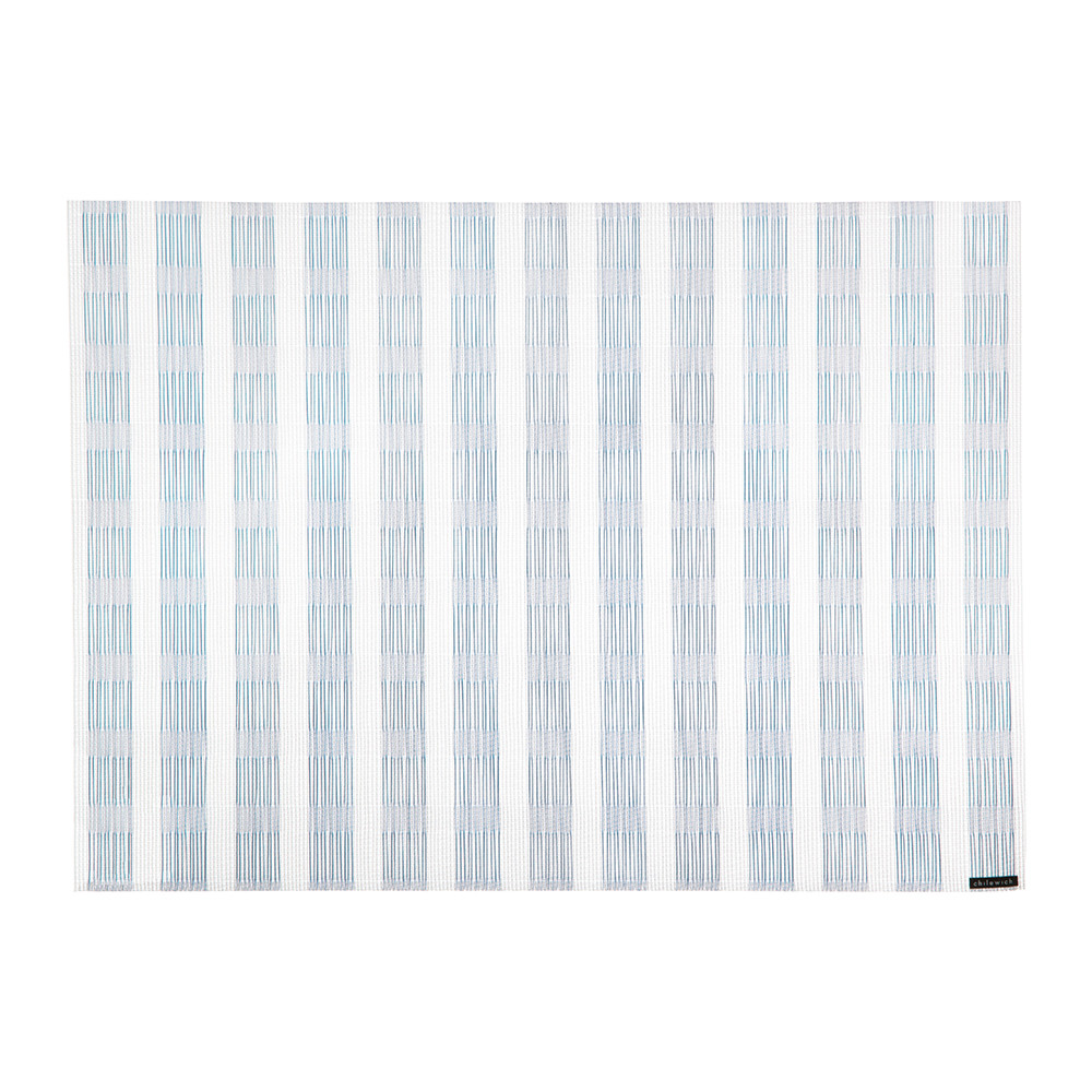 Chilewich - Stitch Rectangle Placemat - Lake