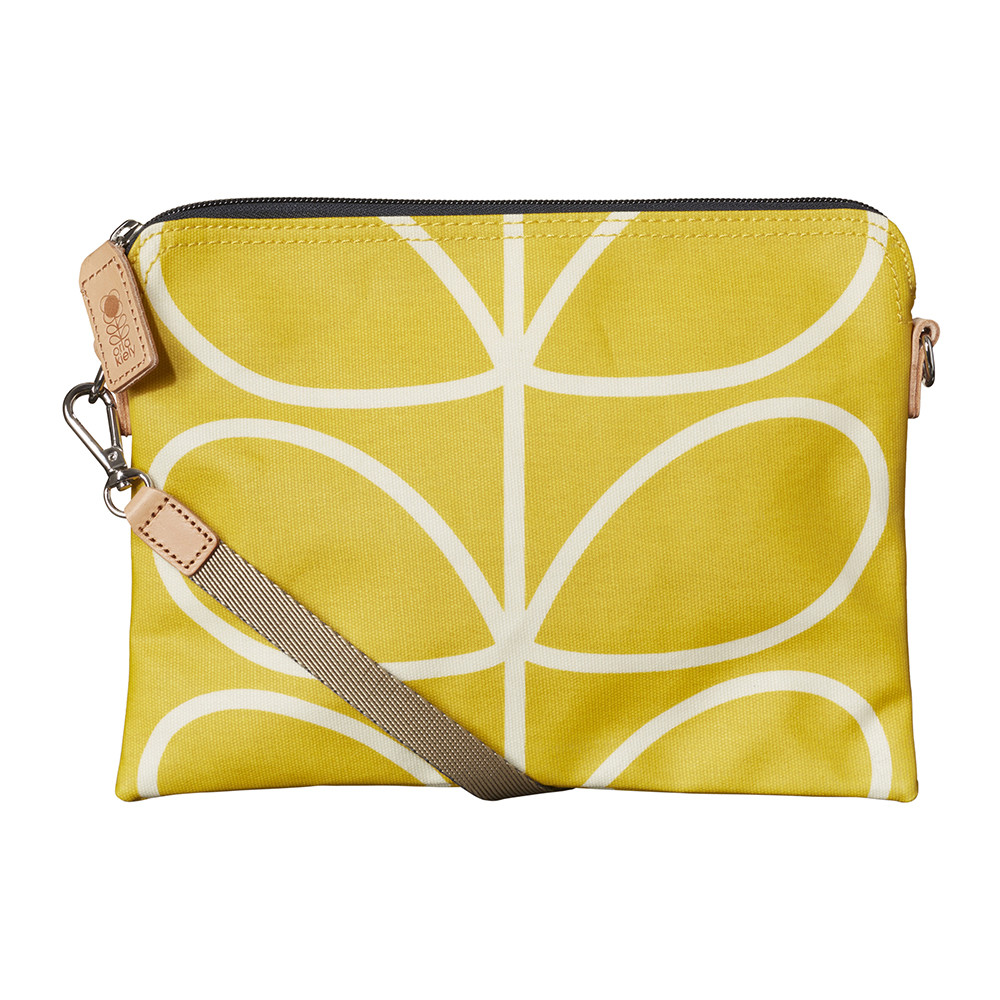 Orla Kiely - Laminated Giant Linear Stem Travel Pouch