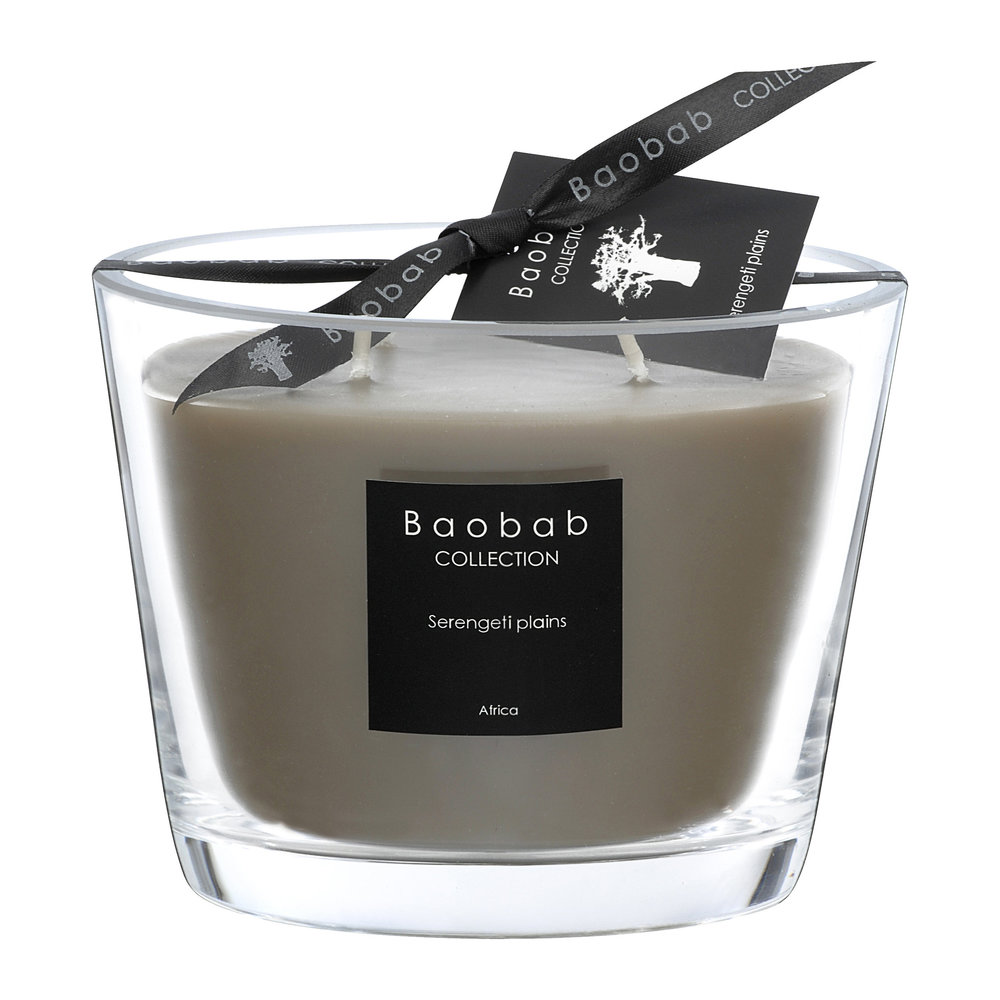 Baobab Collection - Scented Candle - Serengeti Plains - 10cm