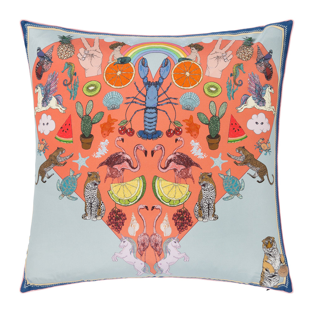Silken Favours - Crazy Party Cushion - 55x55cm