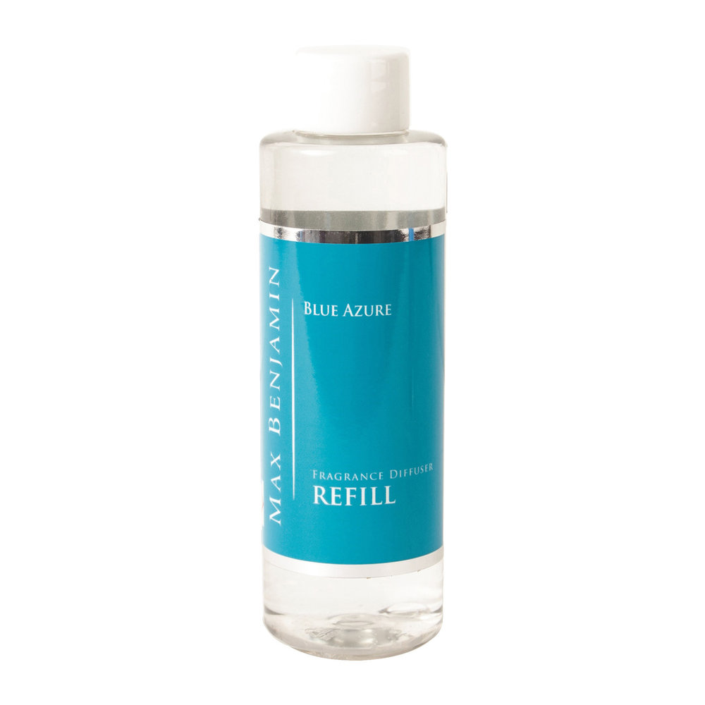 Max Benjamin - Classic Collection Reed Diffuser Refill - 150ml - Blue Azure