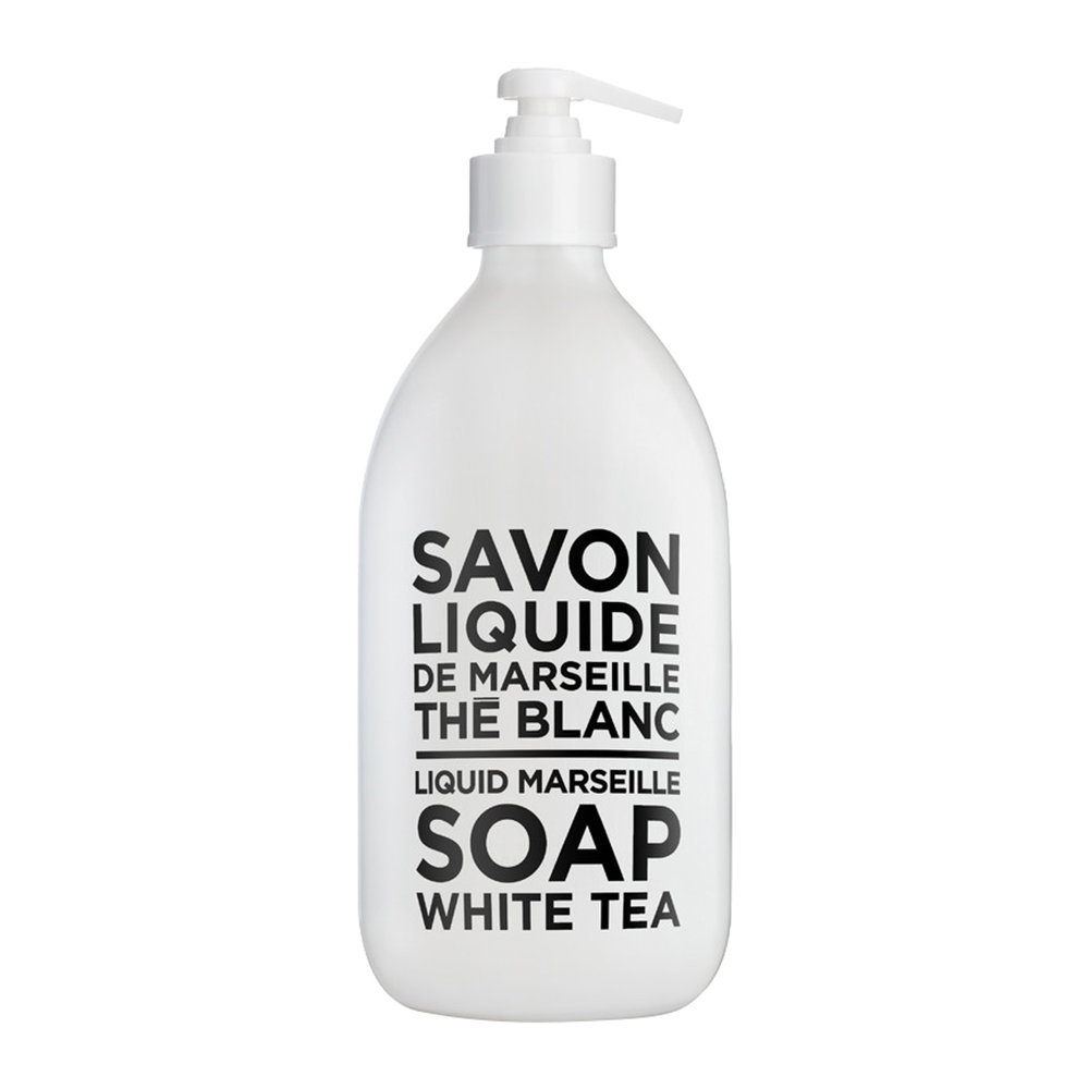 Compagnie de Provence - Black  White Liquid Soap - White Tea - 500ml