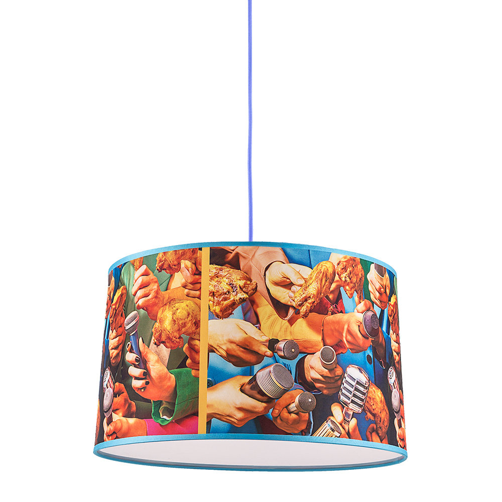 Seletti wears Toiletpaper - Small Toiletpaper Lamp Shade - Microphones