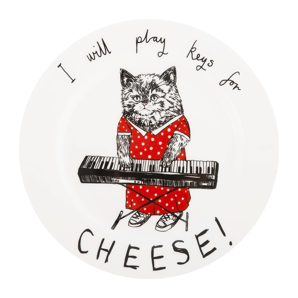 Jimbobart - 'I Will Play Keys for Cheese' Side Plate