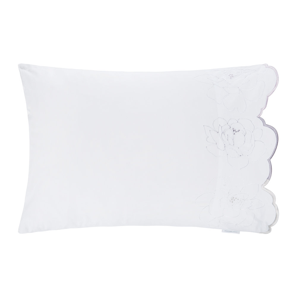 Designers Guild  Floreale Natural Grande Pillowcase  Housewife