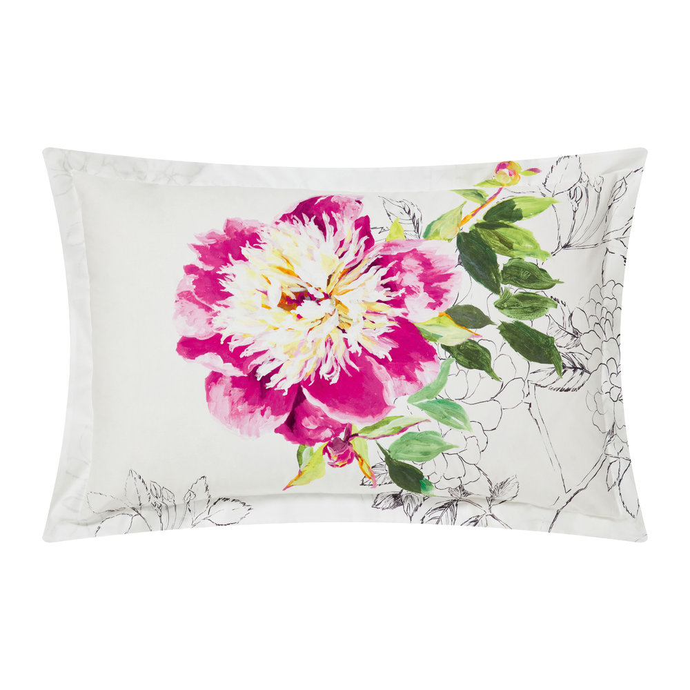 Designers Guild  Sibylla Fuchsia Pillowcase  Oxford