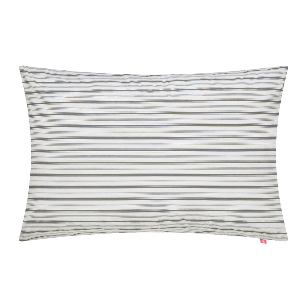 Joules  White Beau Bloom Pillowcase  Housewife