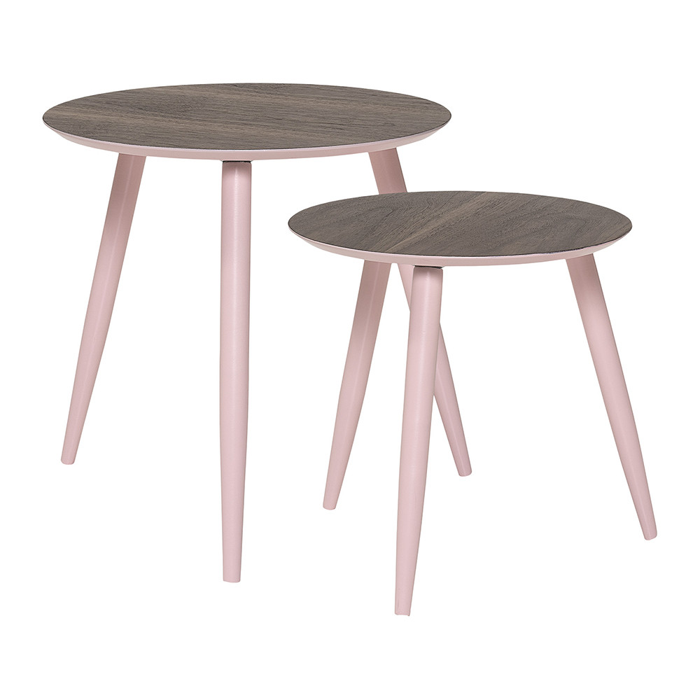 Bloomingville - Asta Rose Coffee Table - Set of 2