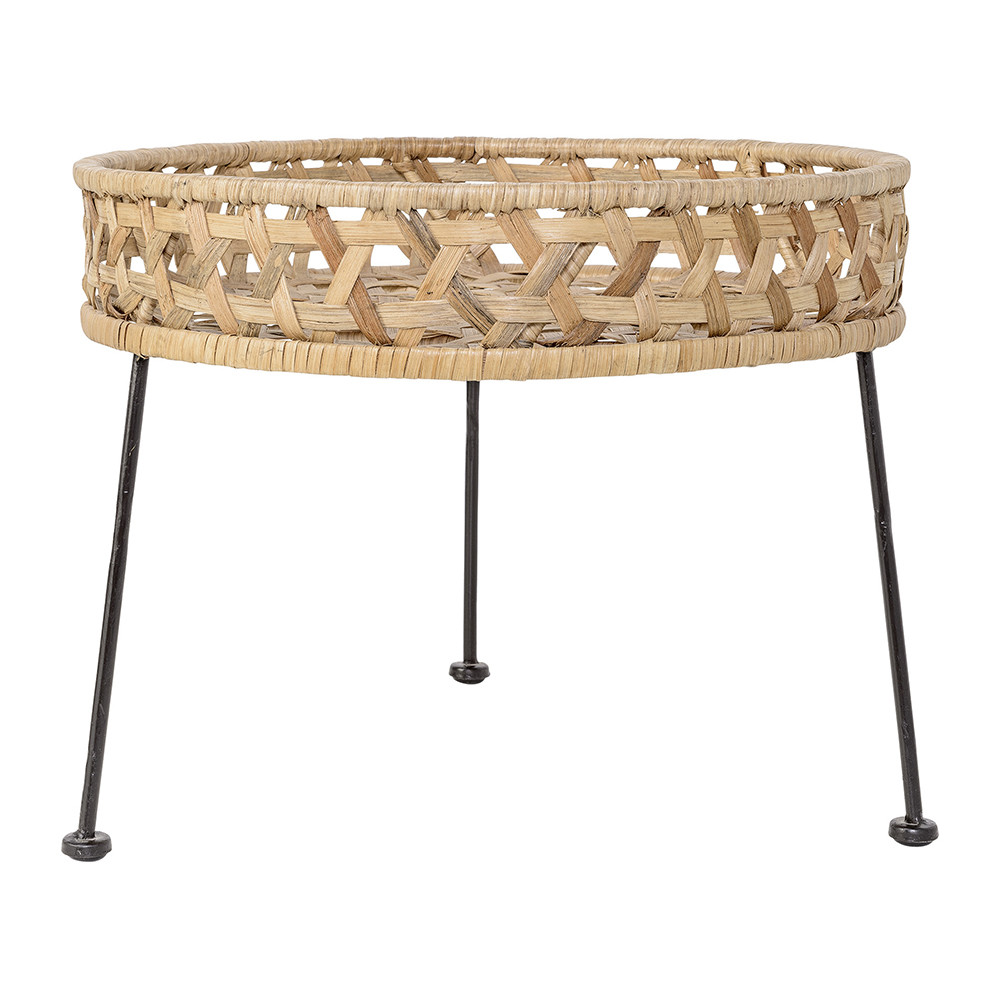 Buy Bloomingville Natural Rattan Side Table | Amara