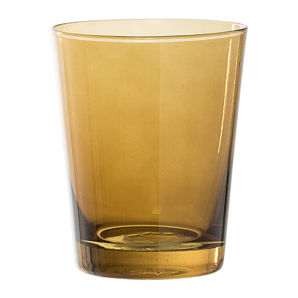 Buy Bloomingville Brown Glass Bathroom Tumbler Amara