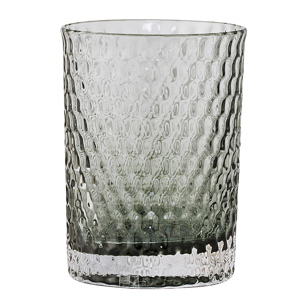 Superieur Buy Bloomingville Gray Glass Bathroom Tumbler | Amara