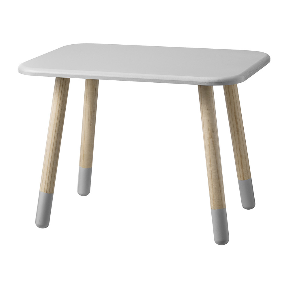 Buy bloomingville children 39 s grey side table small amara for Childrens table