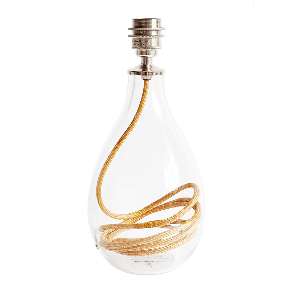 Anna Jacobs - Burnished Gold Flex Lamp Base - Small