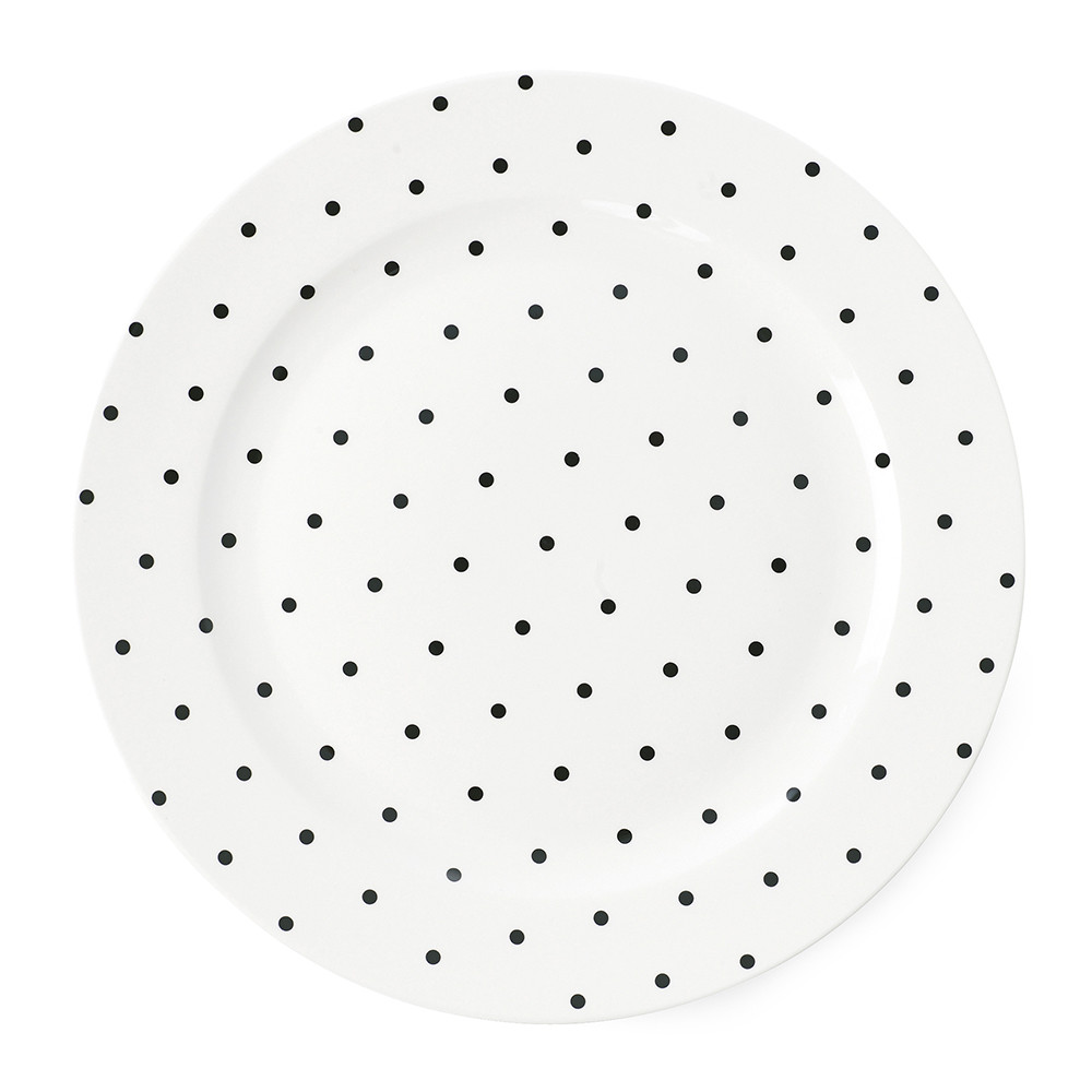 Dining · Tableware · Plates. Previous  sc 1 st  Amara & Buy Miss Étoile Black Dots Dinner Plate - 25cm | Amara