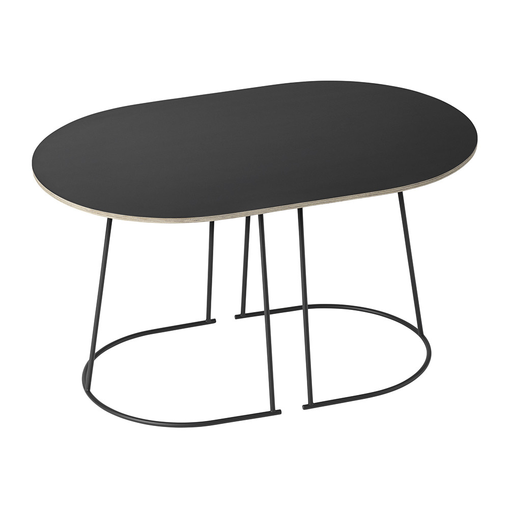 table basse airy noire