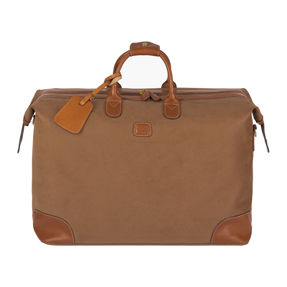 Bric's - Life Top-Framed Holdall - Camel