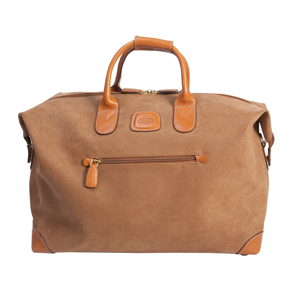 Bric's - Life Small Clipper Holdall - Camel