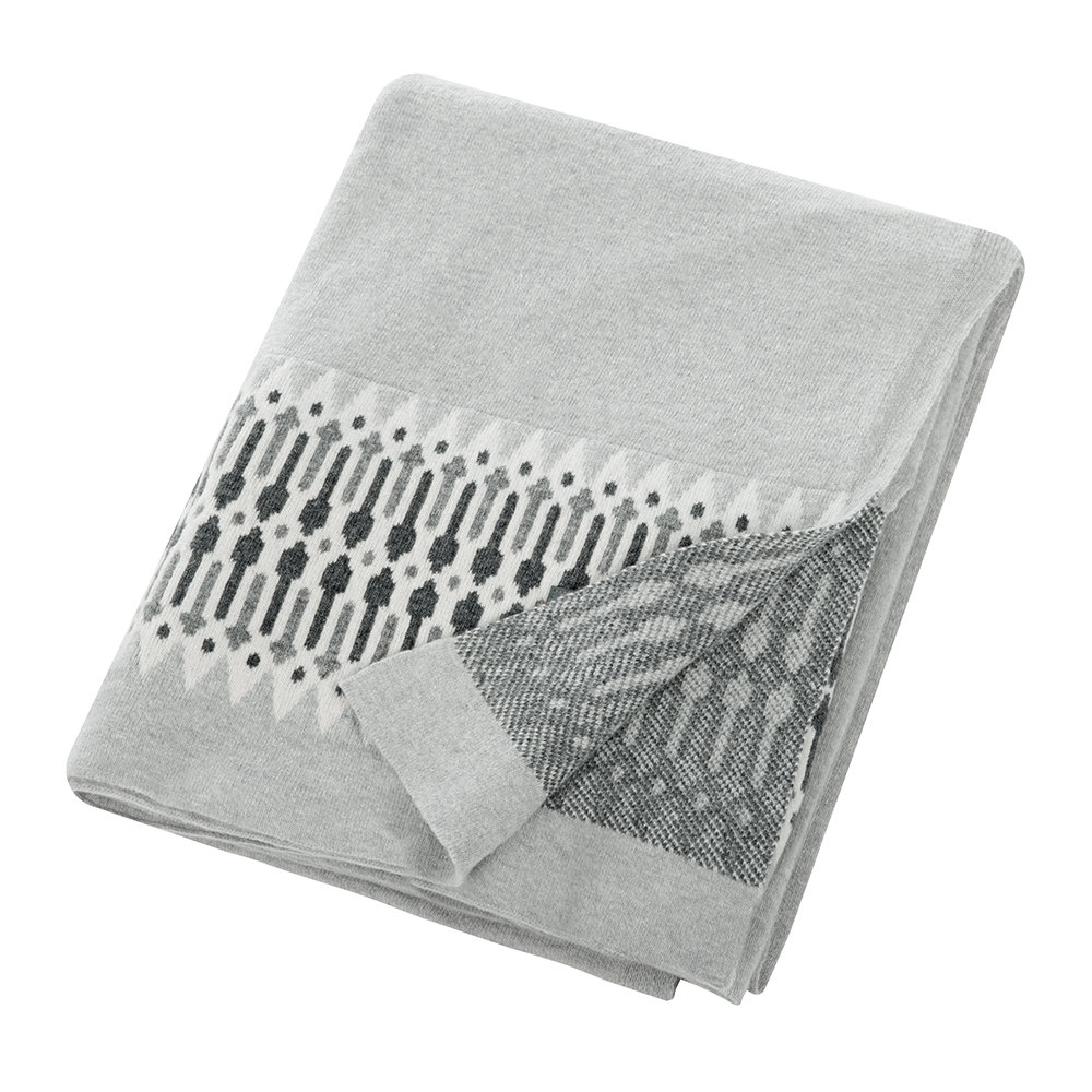 Nordic Knit Throw - Cozy Gift Ideas on Hello Lovely