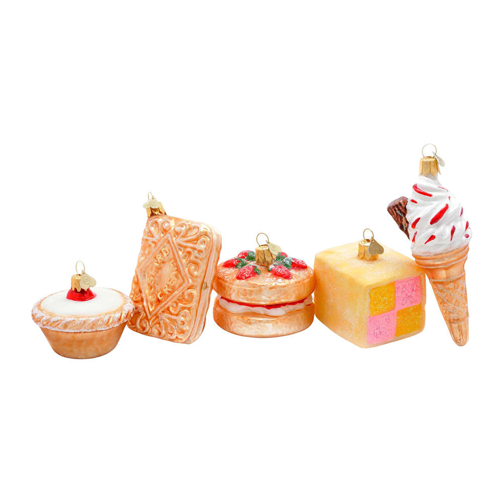 Bombki - Little Treats Tree Decoration - Set of 5