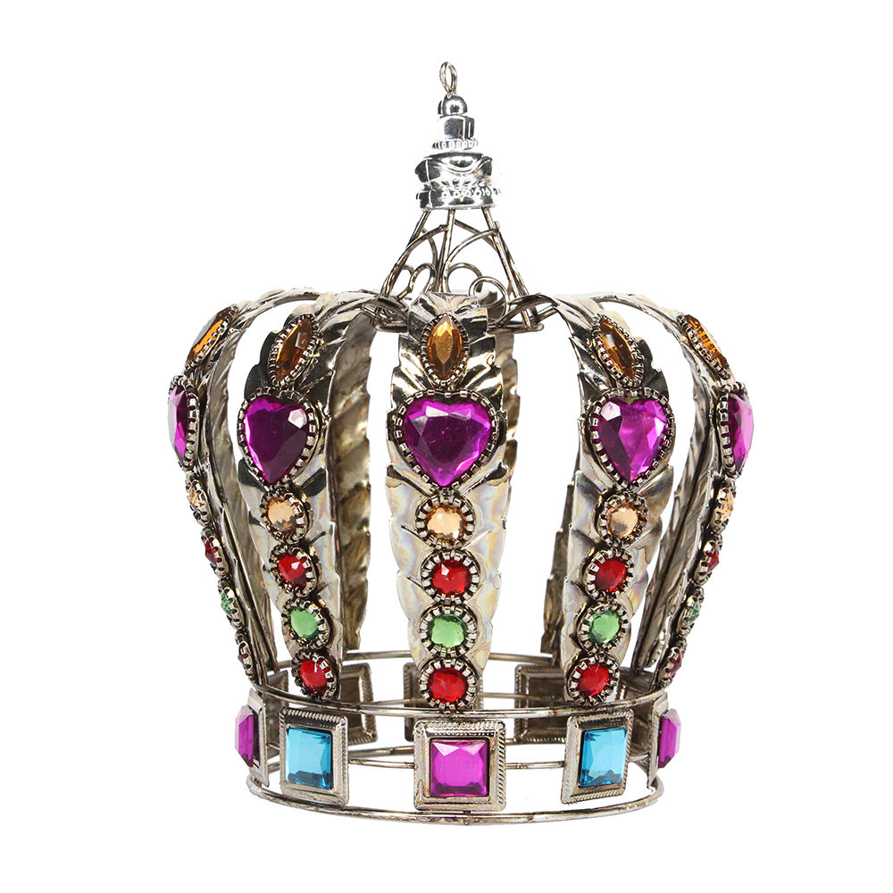 Buy gisela graham bronze jewelled crown tree decoration for Christmas crown decoration