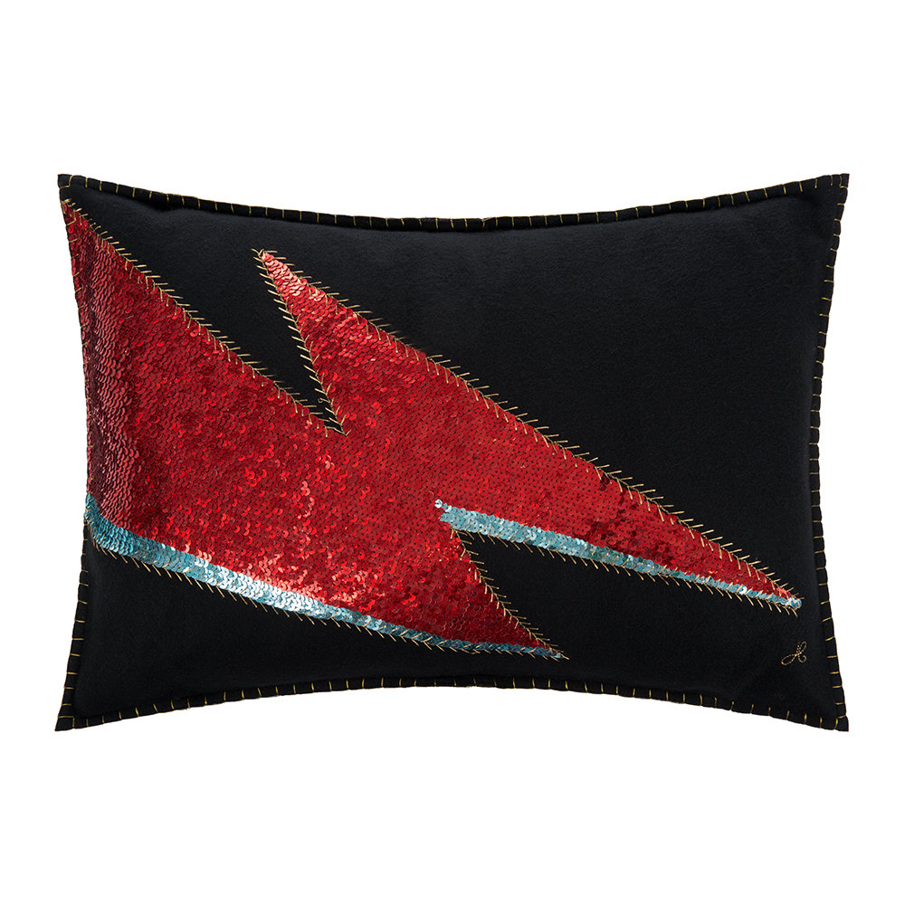 Jan Constantine - Glam Rock Cushion - Black - Ziggy