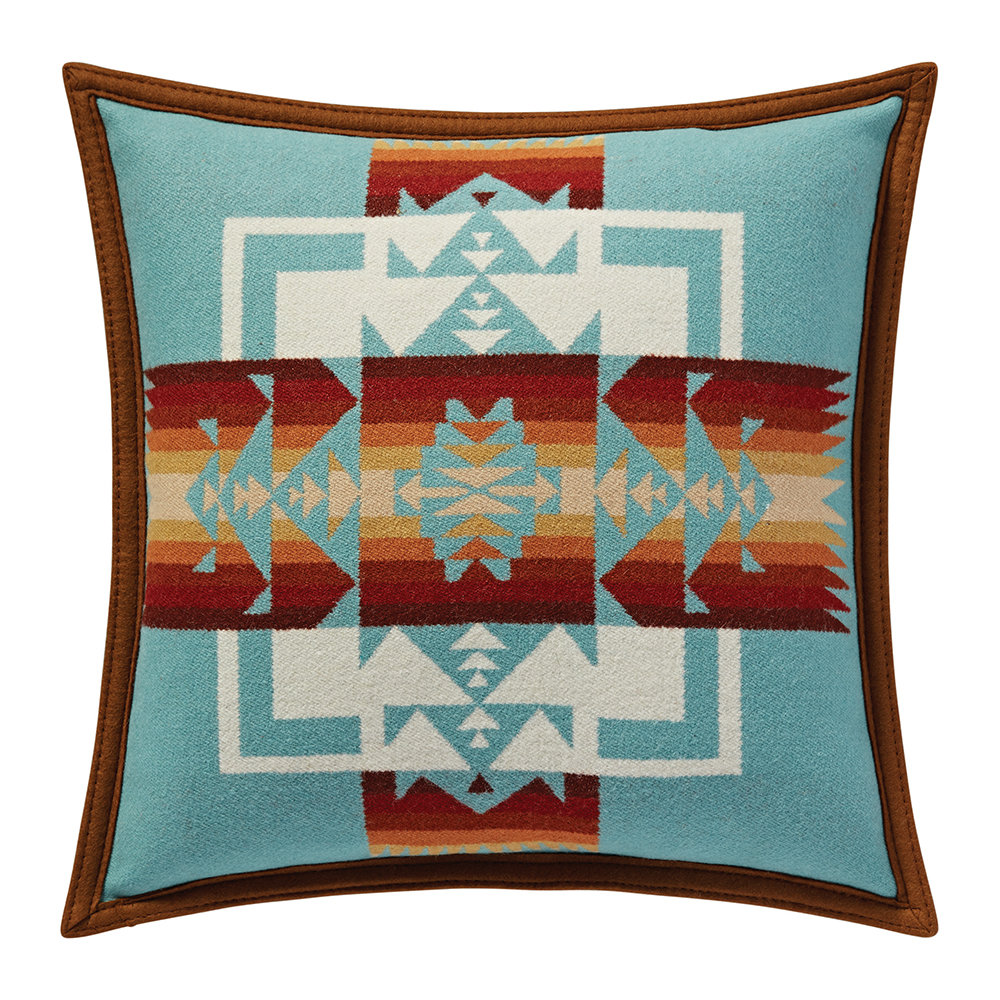 Pendleton - Chief Joseph Cushion - Aqua
