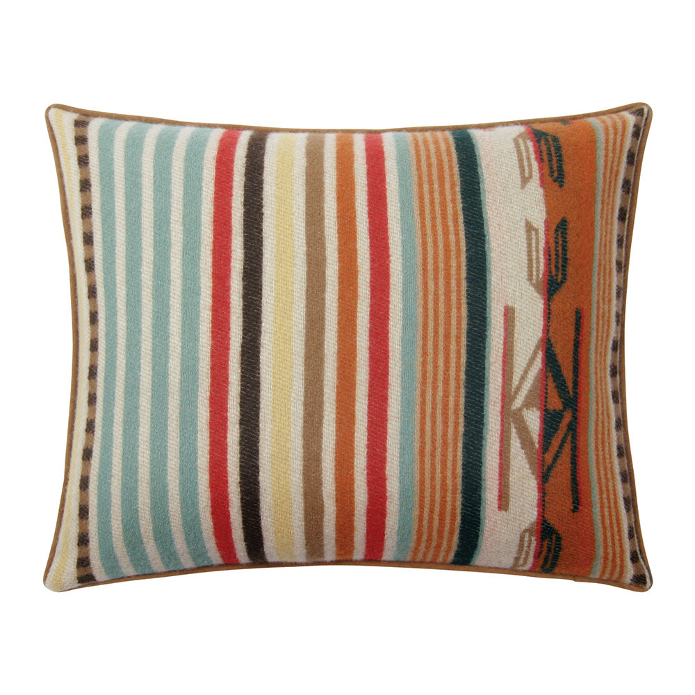 Pendleton - Chimayo Pillow - Coral