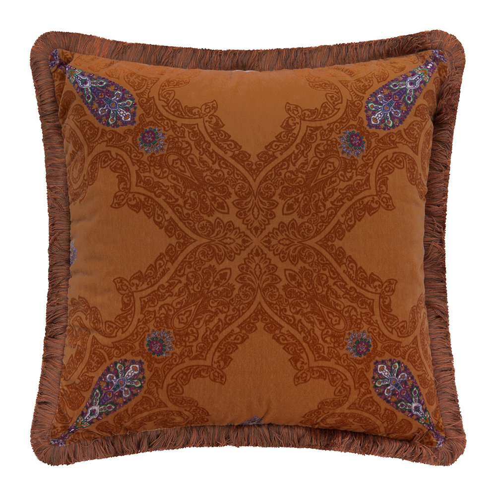 Etro  Cabra Pillow  45x45cm  Orange