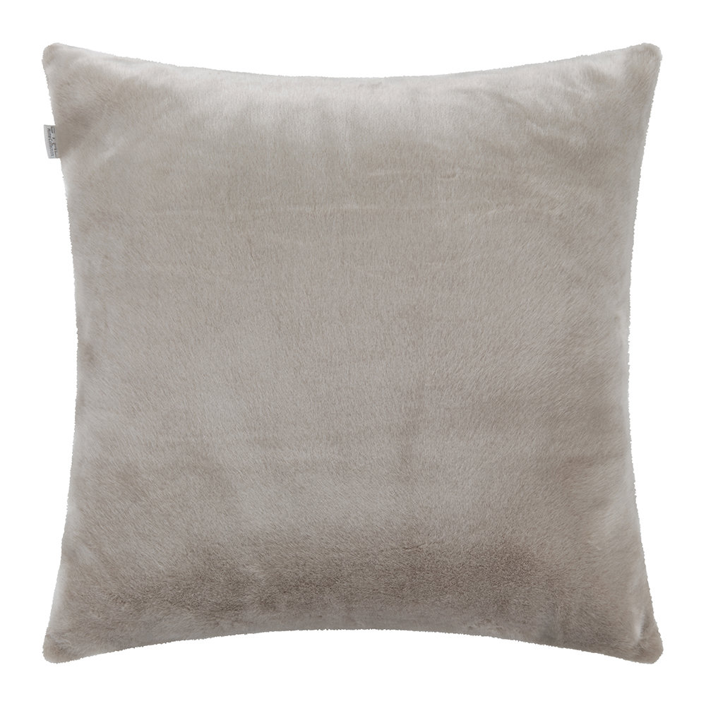 Etro  Sagy Faux Fur Pillow  60x60cm  Blush