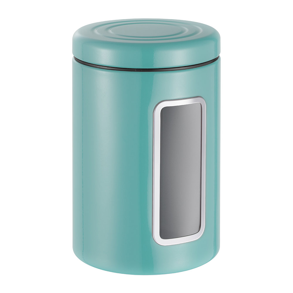 Wesco - Classic Line Canister with Window - 2L - Turquoise