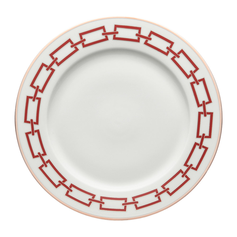 Richard Ginori 1735 - Catene Charger Plate - Scarlatto