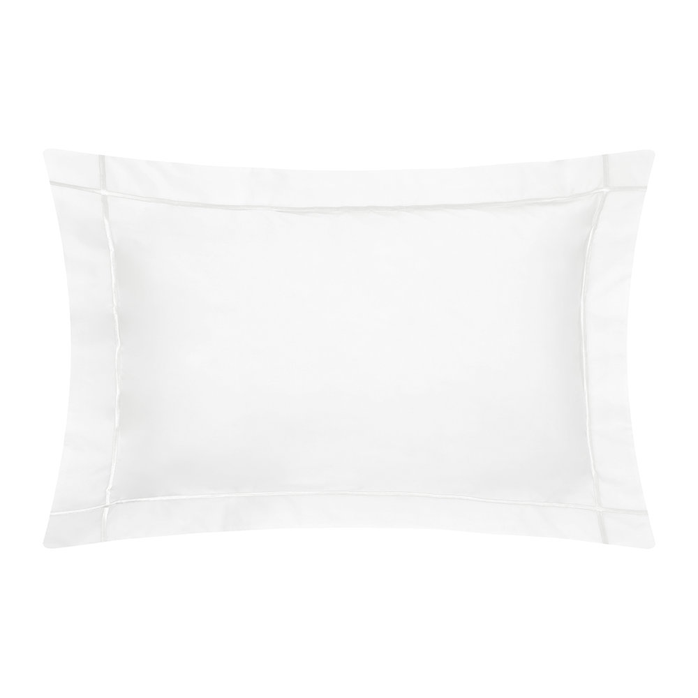 Yves Delorme - Athena White Pillowcase - 50x90cm